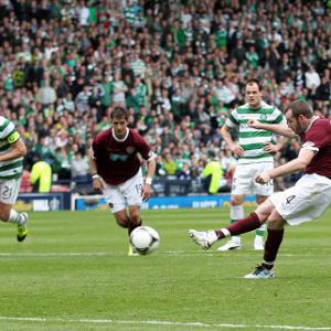 Celtic 5-0 Hearts: Report
