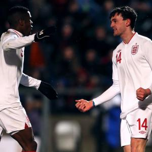 Wilfried Zaha impresses Brian Eastick