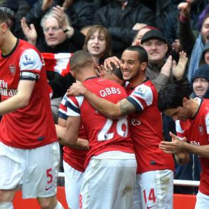 Gunners strike back in Canaries triumph