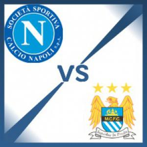 Manchester City away at Napoli - Follow LIVE text commentary