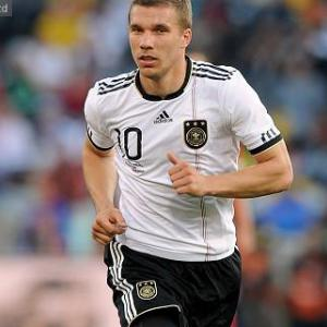 Arsenal-bound Podolski out to help Cologne stay up