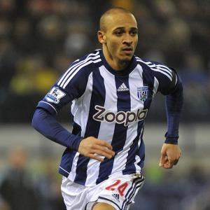 Palace ponder move for West Brom striker Odemwingie