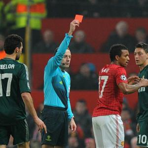 Former Manchester United star Gary Neville 'shocked' by red card