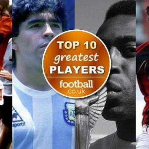 top 10 greatest football players of all time [includes video]