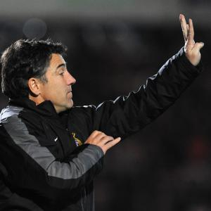 Dean Saunders arrives as Stale Solbakken sulks