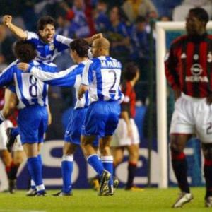 Top 10 Champions League shocks - 3 - Deportivo 4 AC Milan 0
