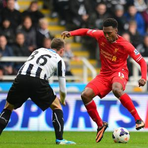 Sturridge denies 10-man Newcastle