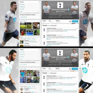 Bale Removed From Tottenham Hotspurs Twitter Background