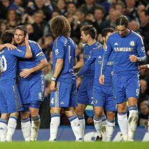 Chelsea demolish sorry Villa