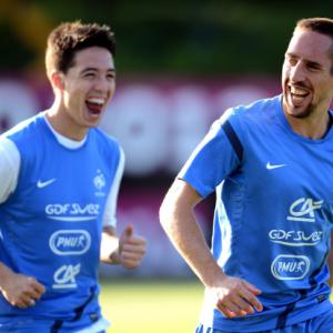No France concern over Nasri, Ribery injuries