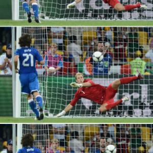 Cheeky Pirlo shows class with 'Panenka' says Kopke