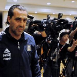 Argentina parts ways with coach Sergio Batista