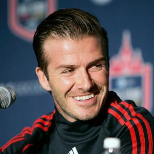 Beckham, Henry see chance to shock Man United