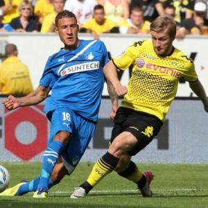 German league champs Dortmund crash at Hoffenheim