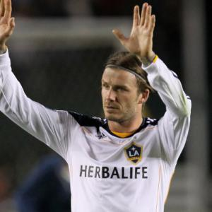 Beckham helps Galaxy into MLS semis