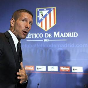 No fear for new Atletico coach Simeone