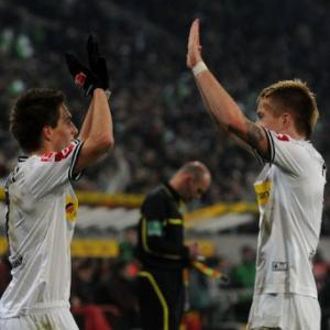 Gladbach stun German league leaders Bayern