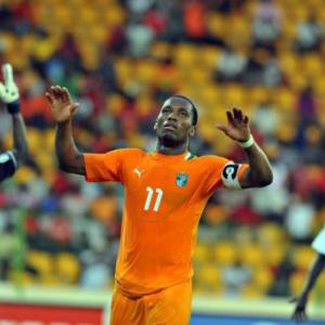 Drogba's Elephants and Angola, off Cup mark