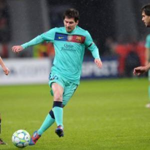 Messi shirt row to profit charity: Leverkusen
