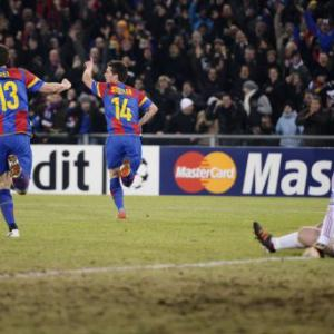 United slayers Basel stun Bayern Munich