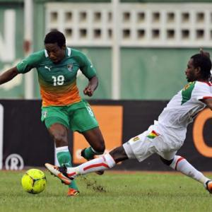Drogba-less Ivory Coast held by Guinea
