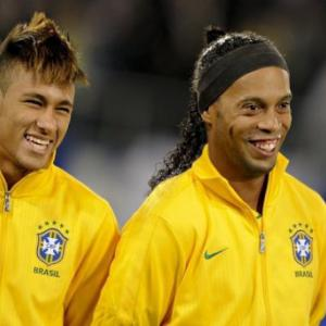 Ronaldinho in Brazil's preliminary Olympic squad