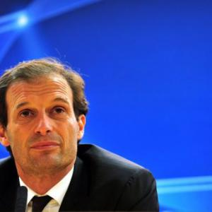 Milan's Allegri says forget the Champions League