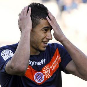 Belhanda double sends Montpellier clear of PSG