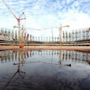 Half of 2014 World Cup stadiums a concern: FIFA