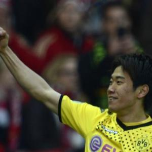 Ferguson meets Kagawa ahead of possible United transfer