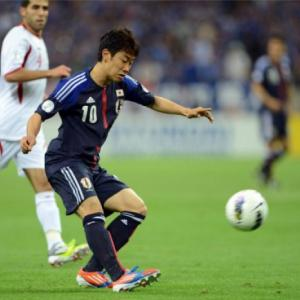 Kagawa ready for action with Manchester United