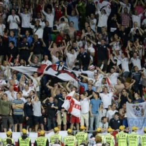 UEFA action against England over pitch invasion