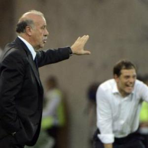 Del Bosque admits Spain not at best against Croats
