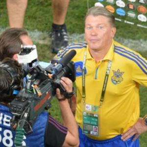 Angry Blokhin clashes with reporter