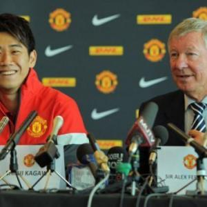 Japans Kagawa ready for Man Utd spotlight
