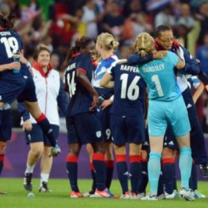 Houghton the heroine as Britain beat Brazil