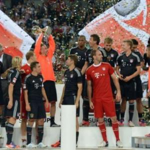 Bayern lift German Super Cup