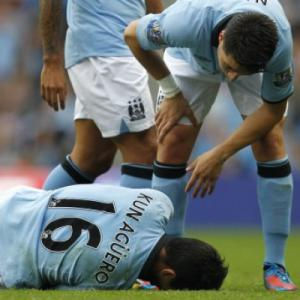 City face nervous wait over Aguero injury