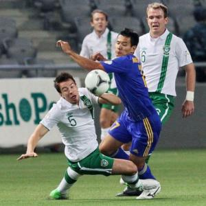 Late double gives Ireland victory over Kazakhstan