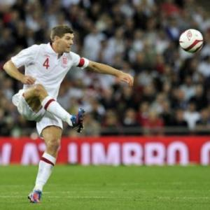 England captain Gerrard rues harsh red card