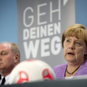 Merkel tells gay German footballers its OK to come out