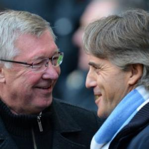 Mancini says Manchester City better than Manchester United