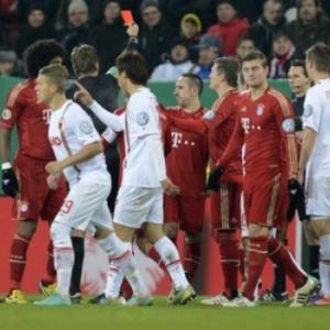 Bayern Munich's Franck Ribery slapped with two-match cup ban