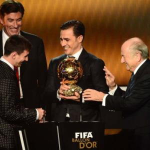 Gilded Messi takes his seat in pantheon of greats