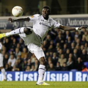 Tottenham striker Adebayor included in Togo squad for AFCON