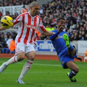 Walters scores two own goals to put Chelsea third
