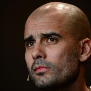 Bayern next stop for golden boy Guardiola