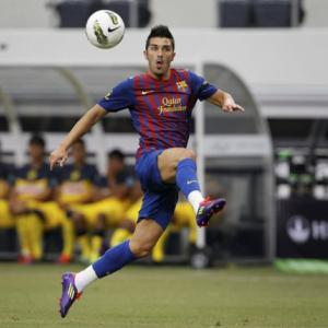 Barcelona star David Villa fit again for cup tie against Malaga
