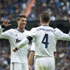Ronaldo hits hat-trick as Real Madrid thrash Getafe