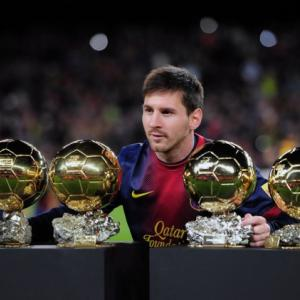 I must improve, says modest Messi